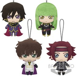 Code Geass: Lelouch of the Rebellion -The Legend of Geass- Plush Collection