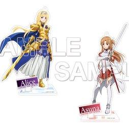 Sword Art Online: Alicization Acrylic Figure Collection: Asuna & Alice