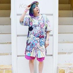 ACDC RAG Samurai T-Shirt Dress