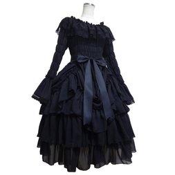 Atelier Pierrot Chiffon Bustle Dress