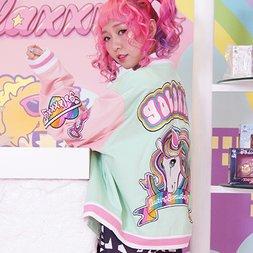 galaxxxy Strawberry Dream Jacket