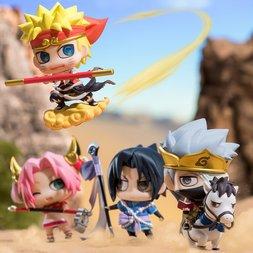 Petit Chara Land Naruto Shippuden Saiyuki Series Box Set
