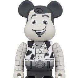 BE@RBRICK Toy Story Woody Black & White Ver. 400%