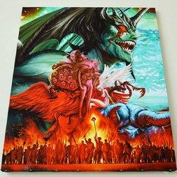 Devilman Chara Fine Graph Print (Size: F15)