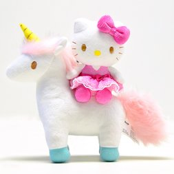 Hello Kitty Unicorn Mascot Plush