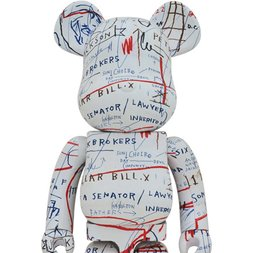BE@RBRICK Jean-Michel Basquiat Vol. 2 1000%
