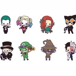 Batman Villains DX Rubber Charm Collection