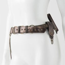 Ozz Conte Dragon Embroidered Belt