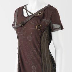 Ozz Croce Mesh Striped T-Shirt