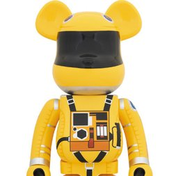 BE@RBRICK 2001: A Space Odyssey Space Suit Yellow Ver. 1000%