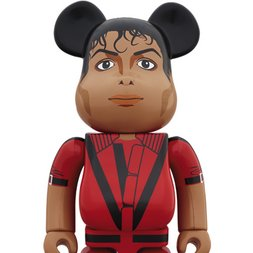 BE@RBRICK Michael Jackson Red Jacket 1000%