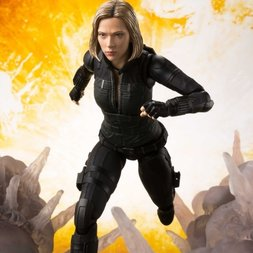 S.H.Figuarts Avengers: Infinity War Black Widow w/ Tamashii Effect Explosion Set