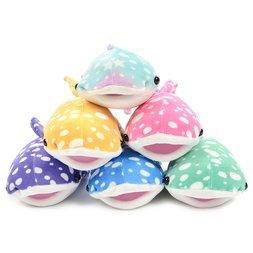 Mochi Puni Whale Shark Super Colorful Cute Plush Collection