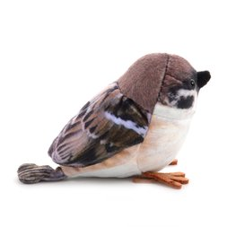 Hokkori Tree Sparrow Plush Magnet