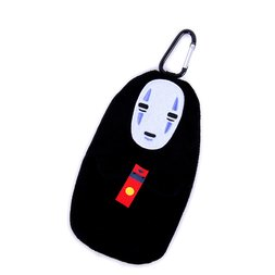 No Face Pouch w/ Clip | Spirited Away
