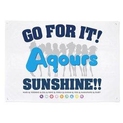 Love Live! Sunshine!! Aqours Cheering Flag