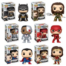 Pop! Movies: Justice League - Complete Set