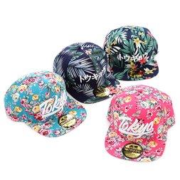 100% Cotton Tokyo Flower Pattern Hat