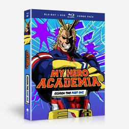 My Hero Academia Season 2 Part 1 Blu-ray/DVD Combo Pack