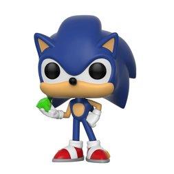 Pop! Games: Sonic the Hedgehog - Sonic w/ Emerald