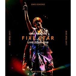 Kensho Ono Live Tour 2018 Five Star Live Blu-ray