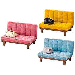 Sleeping Cat on Couch Smartphone Stand