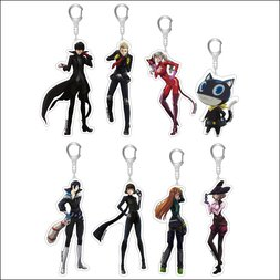 Persona 5 the Animation Acrylic Keychain Collection