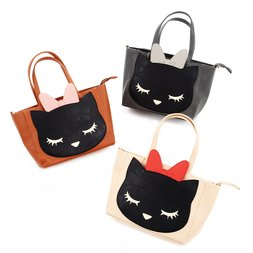 Pooh-chan 2-Way Mini Tote w/ Ribbon Pouch