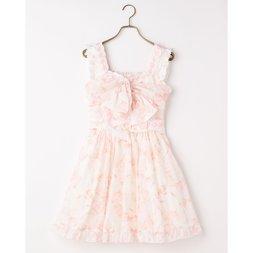 LIZ LISA Ribbon Pattern Dress