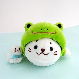 Sirotan Frog Poncho Plush Mascot