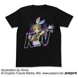 Kagamine Rin V4X Black T-Shirt