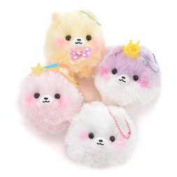 Fuwa-mofu Pometan Yumekawa Dog Plush Collection (Ball Chain)