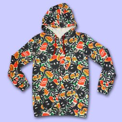 NUEZZZ Eight Arms All-Over Print Hoodie
