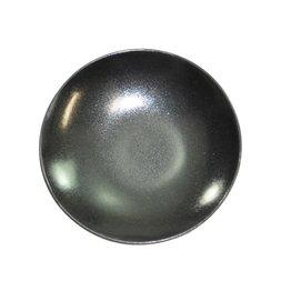 Black Glaze Mino Ware Small Plate