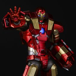 Re:Edit Iron Man #11 Modular Iron Man w/ Plasma Cannon & Vibroblade
