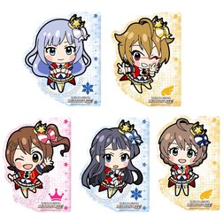 Idolm@ster Million Live! Ruler Keychain Charms Vol. 1