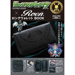 Monster Strike x Roen Long Wallet Book