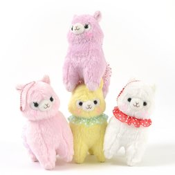 Alpacasso Furi Furi Alpaca Plush Collection (Ball Chain)