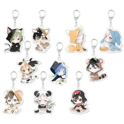 Kagerou Project Animal Keychain Charm Collection