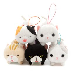 Nobinobi Munchkin Cat Plush Collection (Mini Strap)