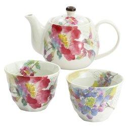 Hana Misaki Mino Ware Tea Set