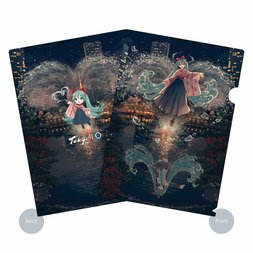 Hatsune Miku x Tokyo 150 Years Festival Collaboration Clear File