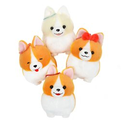 Ichi Ni no Corgi Dog Plush Collection (Ball Chain)