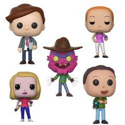 Pop! Animation: Rick & Morty Season 3: Complete Set