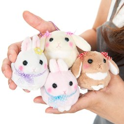 Usa Dama-chan Fancy Ribbon Rabbit Plush Collection (Mini Ball Chain)