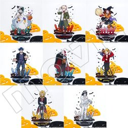 My Hero Academia Halloween Big Acrylic Key Holder w/ Stand Collection