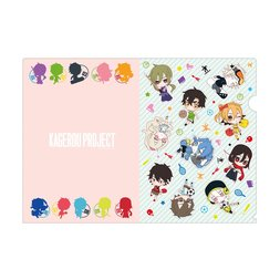 Kagerou Project Mekakushi Dan Sports A4 Clear File