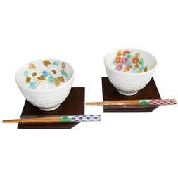 Kotonone Mino Ware Bowl & Tray Set