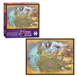 The Legend of Zelda Termina Map Collector's Jigsaw Puzzle