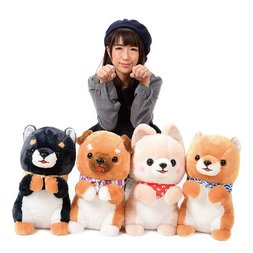 Mameshiba San Kyodai Begging Plush Collection (Big)